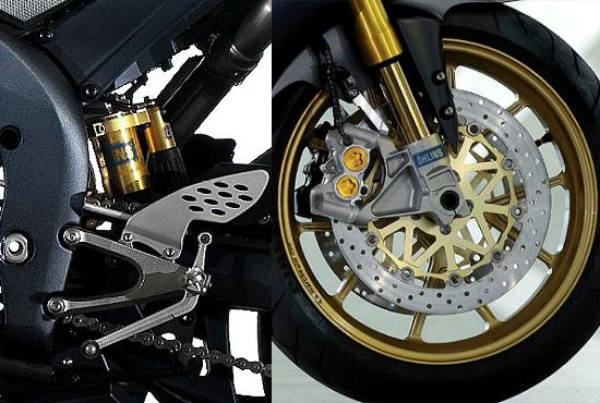 Yamaha r6 for 998 haute compression